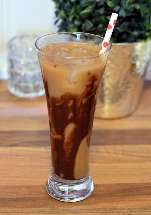 Iskaffe med sjokoladesmak uten ekstra kalorier (Bakekona)