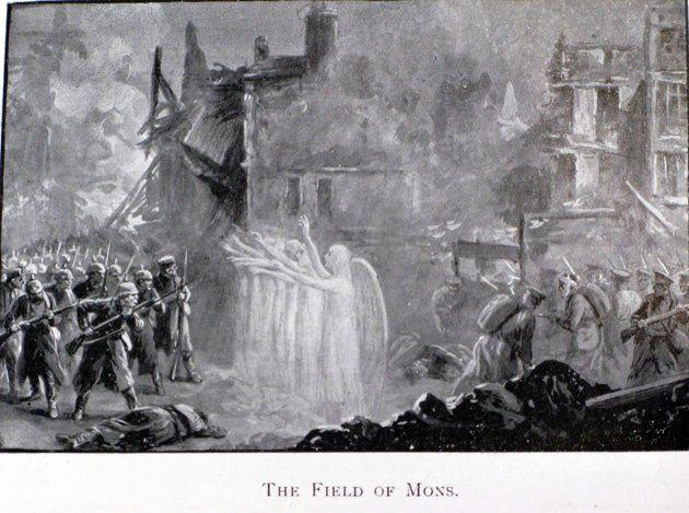 Anjos no campo de batalha. Anjos, alienígenas, ou ficção?  Anjo que salvou vidas na Primeira Guerra Mundial pode ter sido ET » OVNI Hoje!