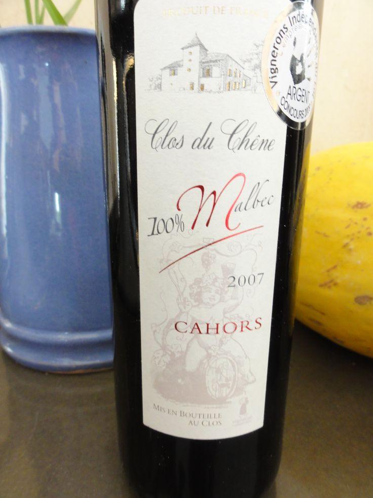 Si vous aimez le Malbec, testez celui ci ! Un vrai régal des papilles, de plus c'est une vigneronne qui est à la tête de la propriété. Un vin rouge de Cahors comme on les aime. #cahors #vin #rouge #sudouest #closduchene #malbec #caveosaveurs