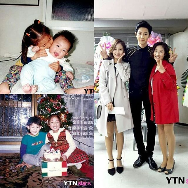 "[StarTalk] News anchor Park Yoora said: ""My younger brother Chanyeol? He is sensitive and shy."" ."