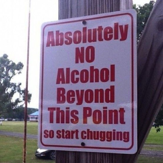 Haha haha - Click image to find more Humor Pinterest pinsStartchug, Laugh, Funny Signs, Alcohol, Front Doors, Funny Stuff, Challenges Accepted, Start Chug, Drinks