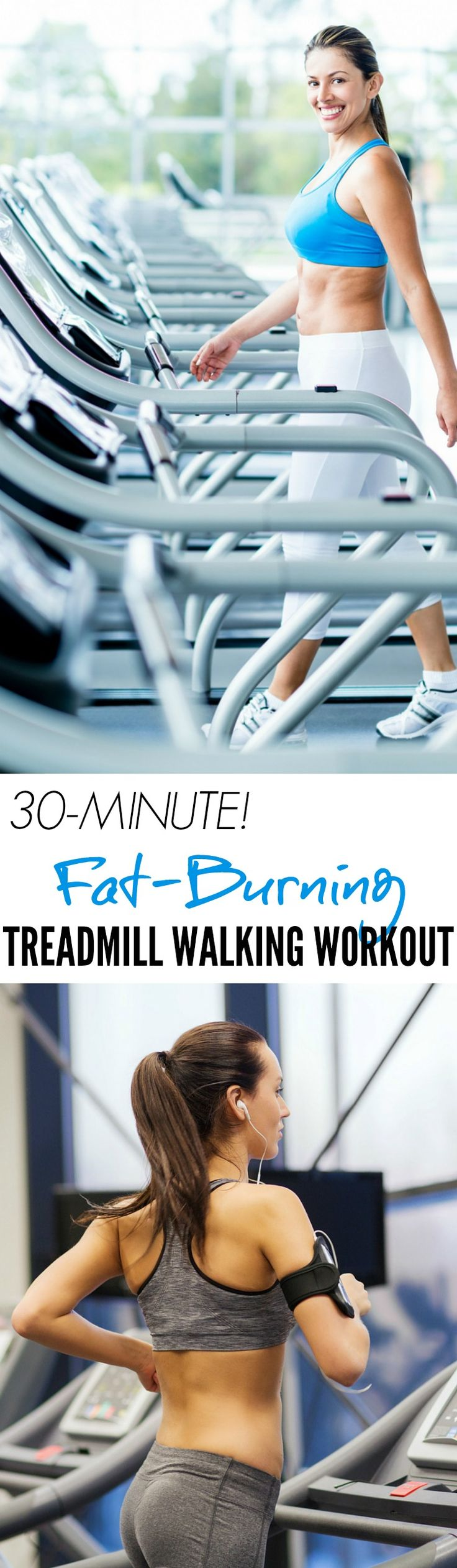 30-Minute Fat-Blasting Treadmill Walking Workout ...