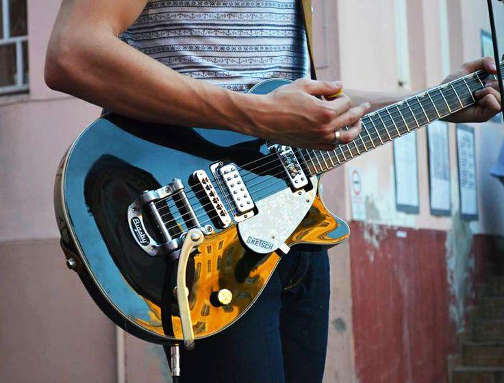 Kustan Adam, Gretsch Electromatic Pro Jet, Bigsby, Guitar