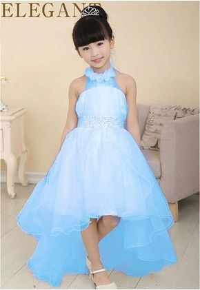 Girl <b>Princess Ball Gown</b> with flower <b>white</b> pearl belt baby Girls party ...