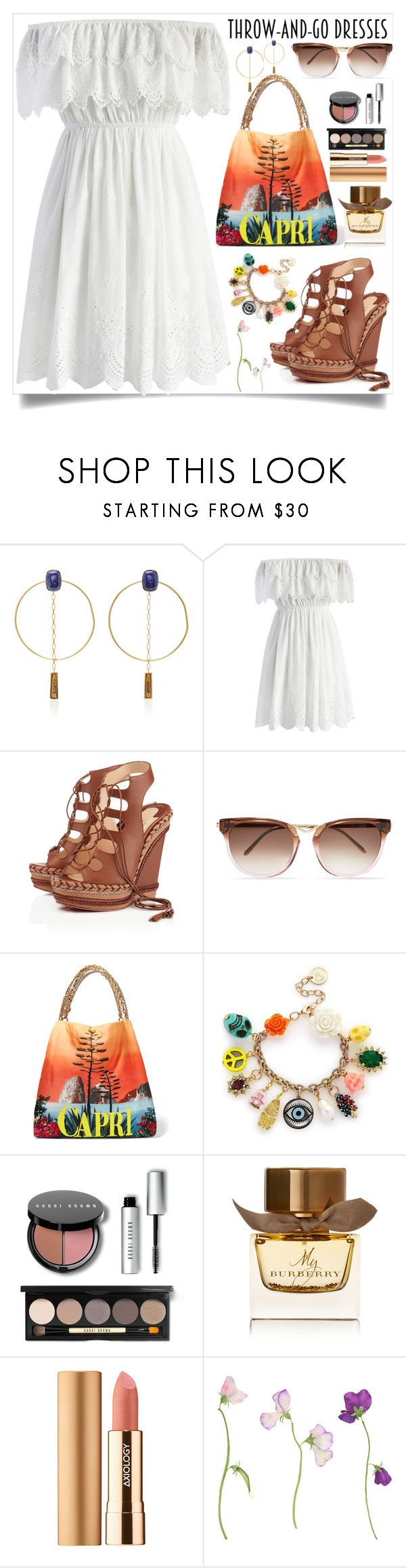 """""""Easy Outfitting: Throw-and-Go Dresses"""" by teto000 ❤ liked on Polyvore featuring Isabel Marant, Chicwish, Christian Louboutin, Thierry Lasry, Dolce&Gabbana, Anton Heunis, Bobbi Brown Cosmetics, Burberry, Axiology and easydresses"""