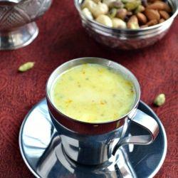 Badam milk powder recipe to make badam milk instantly......
