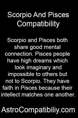Pisces scorpio sexually compatible