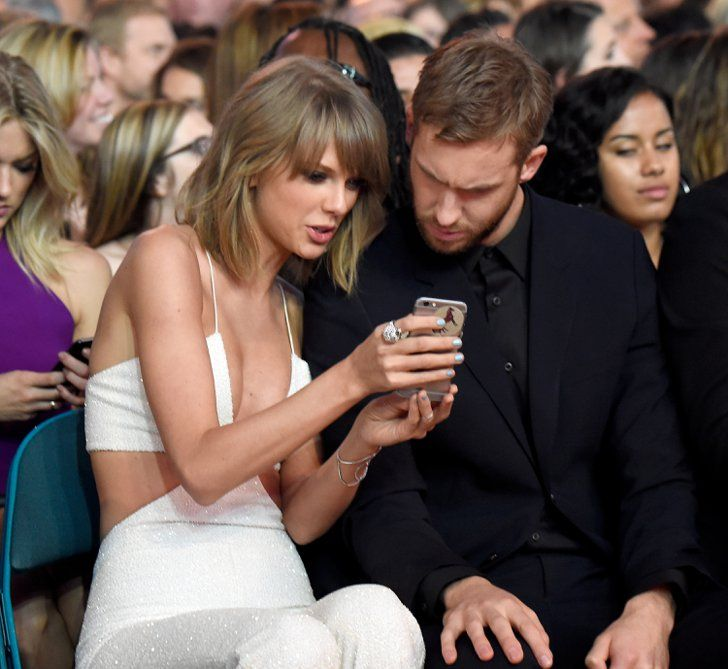 Pin for Later: The 24 Cutest PDA Pictures of Taylor Swift and Calvin Harris at the Billboard Music Awards