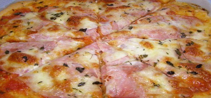 Šunková pizza z bílého jogurtu za pár minut!