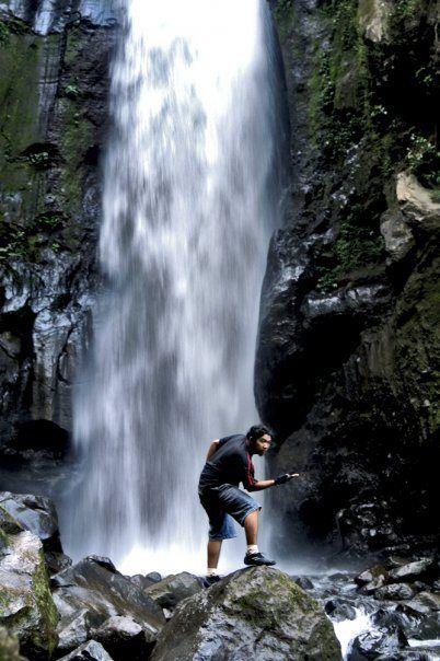 waterfall kedung kayang, yogyakarta, indonesia