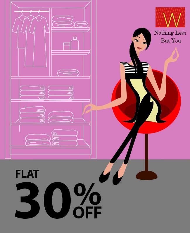 What about a #shopping spree this #Thursday?? Flat 30 % off! Check our online store here : www.shopforw.com