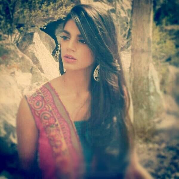 Sanam Saeed's hair is goals, ughh I hate saying that, but really...