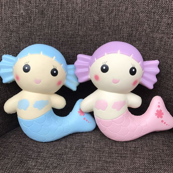 Kawaii Mermaid Squishy Slow Rsing Squishies Toys [Squishy MN013] - $6.97 :  Moyser