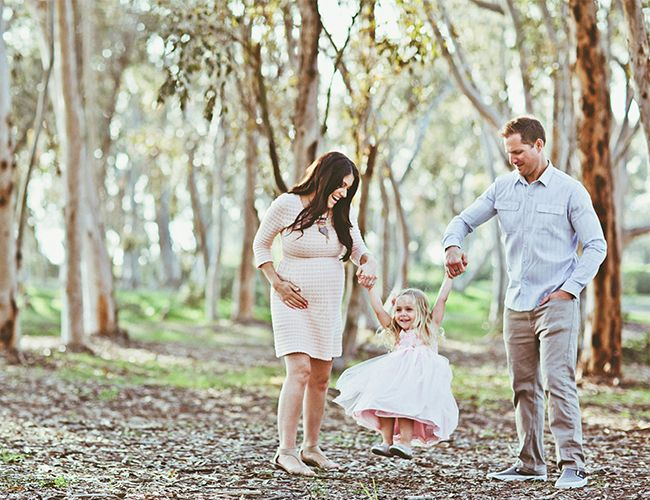 Mother Daughter Maternity Photos - Inspired By This- so cute!