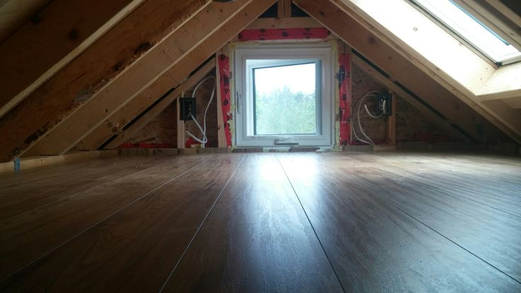 Day 39 - flooring in sleeping loft
