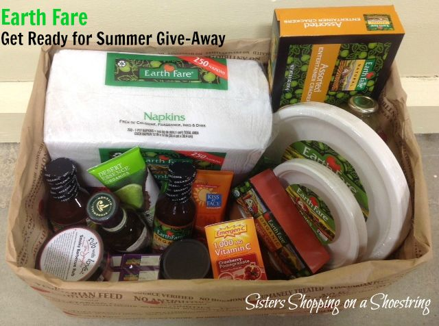 Earth Fare Solon Summer Give Away! - Sisters Shopping on a Shoestring