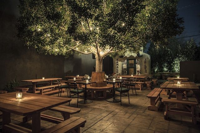 From dizzying rooftop views to hidden backyard patios, here are the best bars for outdoor drinking.