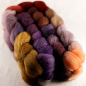 Image of Superwash BFL/Nylon (Muted Purples)