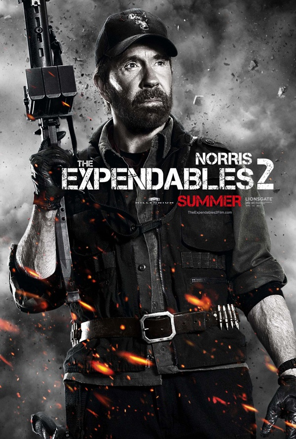 The Expendables 2: Chuck Norris