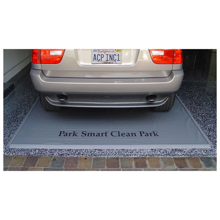 Clean Park Garage Mat | from hayneedle.com