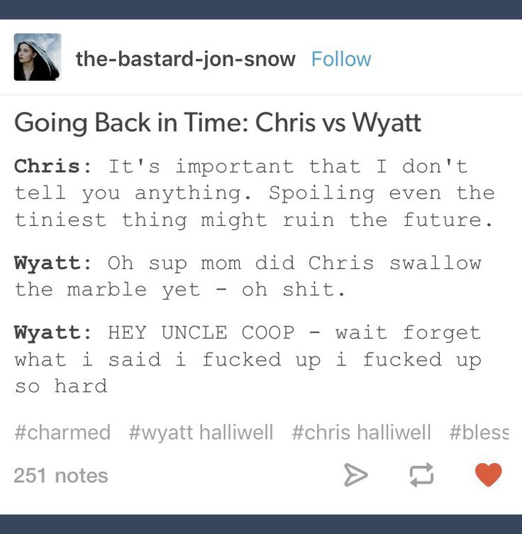 Chris Halliwell; Wyatt Halliwell; Charmed