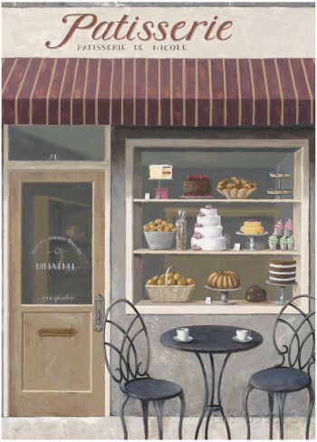 Bakery Errand Poster von Marco Fabiano - AllPosters.at
