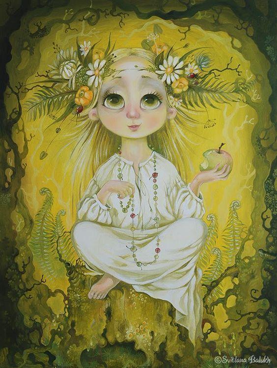 """Зелене ябко"" полотно, олія. 60х80см ©Світлана Балух / ""Green apple"" oil on canvas 60х80 cm ©Svitlana Balukh:"