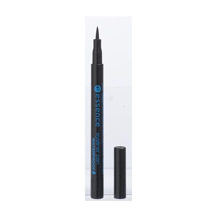 Essence 01 Deep Black Waterproof Eyeliner Pen   Kruidvat
