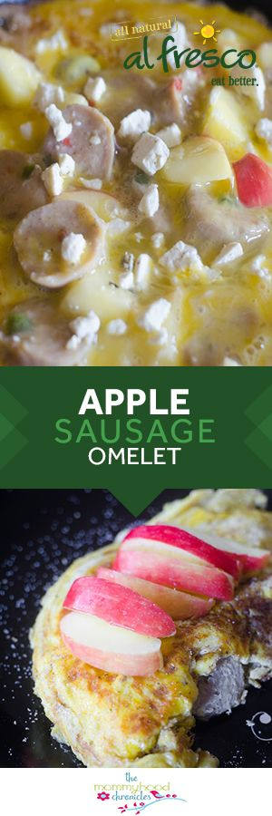 An easy and healthy meal that won't break the bank - try this fresh and vibrant Apple Chicken Sausage Omelet recipe by The Mommyhood Chronicles! Ready in less than 15 minutes, enjoy this for breakfast, lunch or dinner with your family.