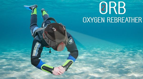 Orb Oxygen Rebreather By Thomas Kinship Product Design