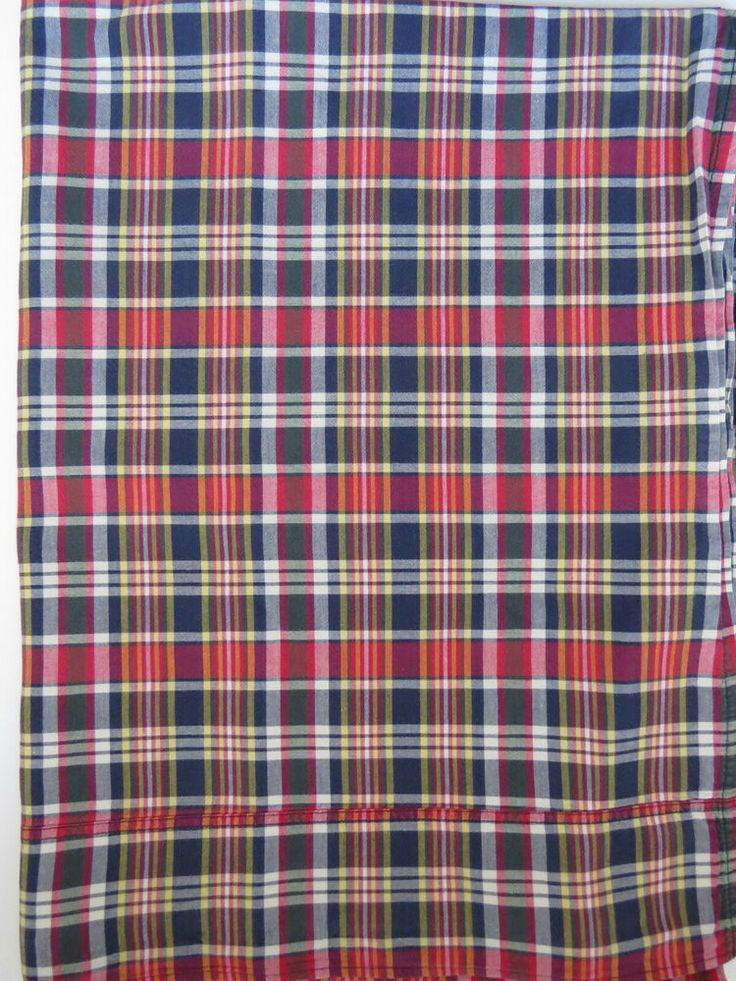Twin Flat Ralph Lauren Sheet Kennebunkport Plaid Madras