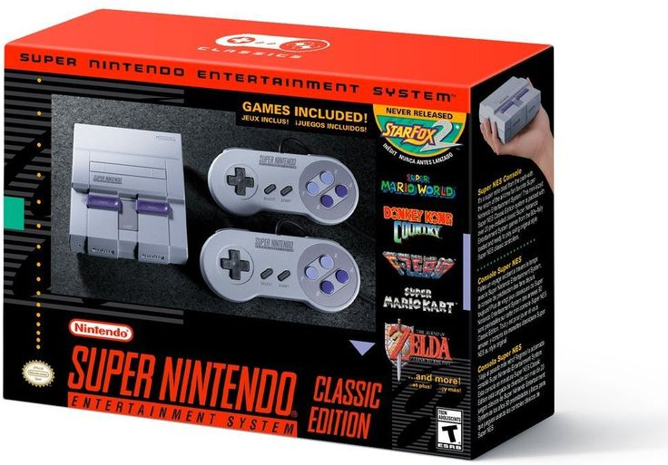 Nintendo Super NES Classic mini console https://www.amazon.com/Super-NES-Classic/dp/B0721GGGS9/ref=as_li_ss_tl?ie=UTF8&qid=1498615732&sr=8-4&keywords=super+nes+classic&linkCode=ll1&tag=mypintrest-20&linkId=6bb408fec32834ac33912f47b4fe368f