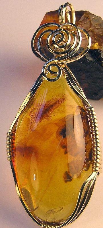 Baltıkların Doktor Taşı, Kehribar ( AMBER )   My Jewelry Fashion