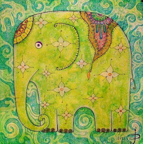 Индийский слон - Павлова Юлия