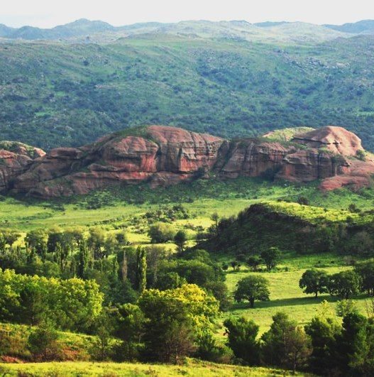 Valle de Ongamira, Cordoba. Argentina