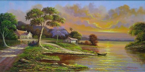 Quadro paisagem