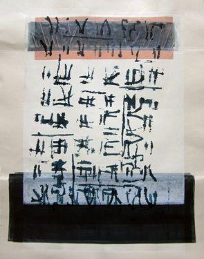 Study in color and alphabet Original work by Emmanuelle Renard