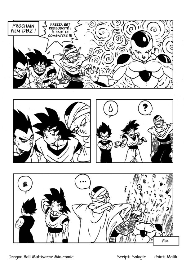 Minicomic Page 61 - Dragon Ball Multiverse