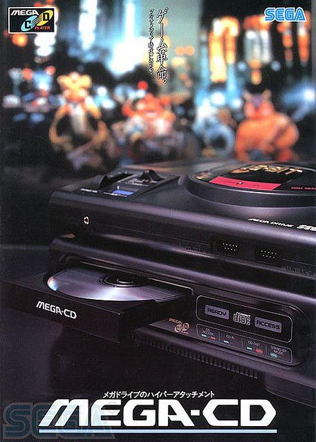 SEGA Mega-CD (Japan) - Sega Genesis CD in the Americas