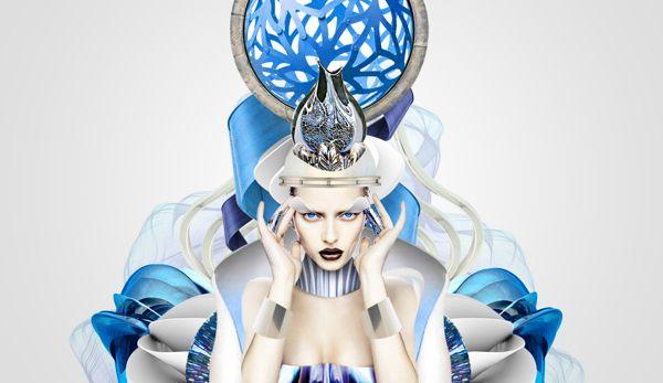 textile design by @ioarts #art #Indonesia #fashion