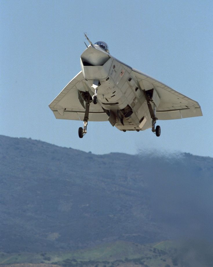 The Boeing X-32 was a concept demonstrator aircraft in the Joint Strike Fighter contest. It lost to the Lockheed Martin X-35 demonstrator which was further developed into the Lockheed Martin F-35 Lightning II.