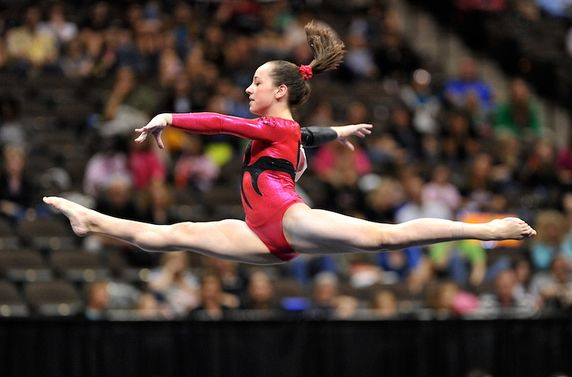 How to create beautiful leaps and jumps for your gymnasts