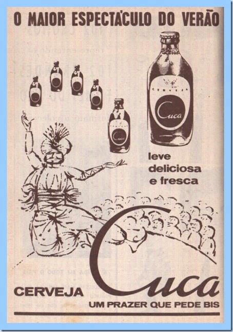 Vintage Beer Poster - Cerveja Cuca