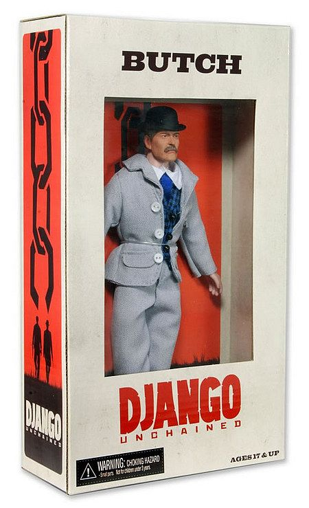 James Remar as Butch in Django Unchained Action Figure by NECA, 2012