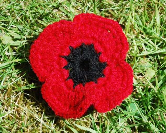 Knitting Pattern For Anzac Poppies : 454 best images about We will remember them on Pinterest ...