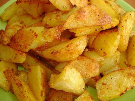 cartofi cu mujdei de usturoi