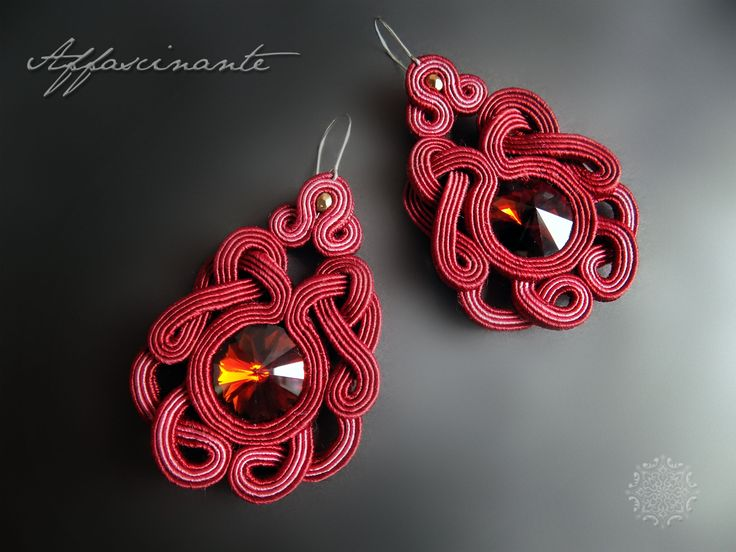 soutache earrings https://www.facebook.com/AffascinanteArt/photos/pb.307034952805120.-2207520000.1461623764./552207004954579/?type=3&theater