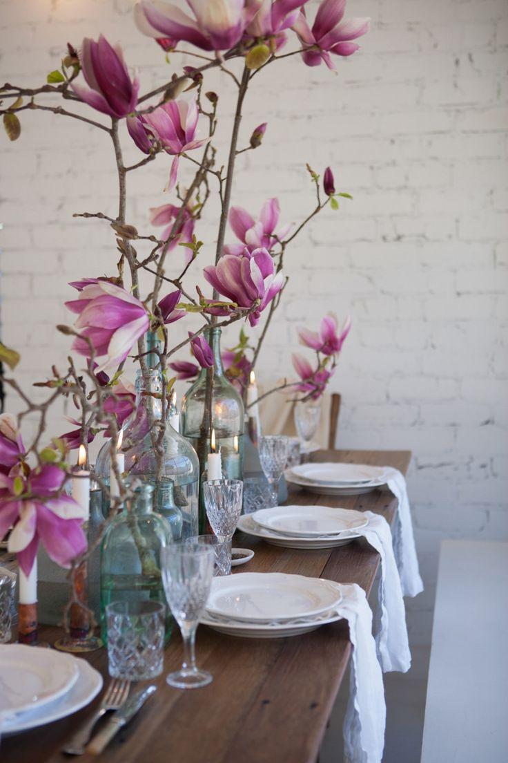 Magnolias / The LANE's 'April Light' Tablescape