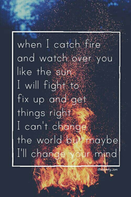 Catch Fire -5sos made by @christy_cm