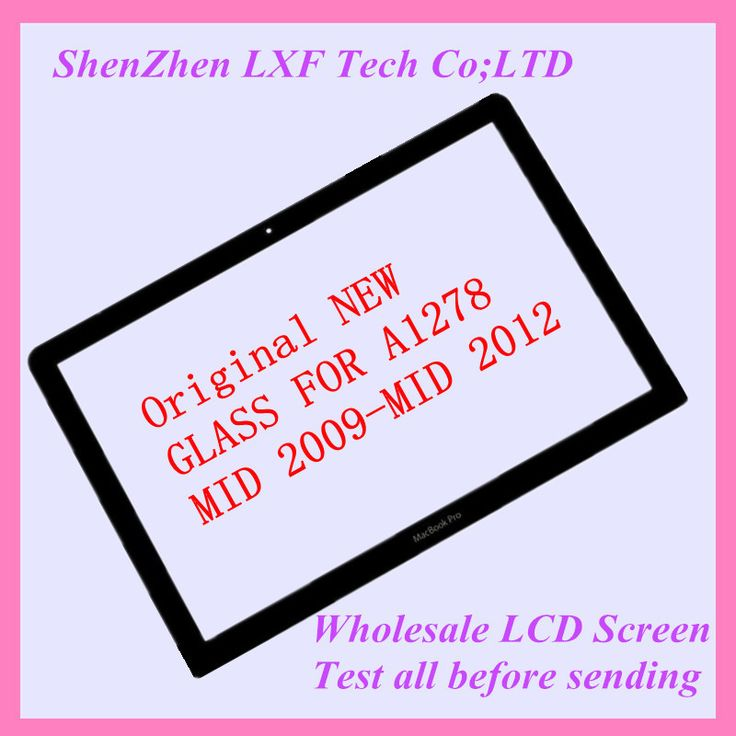 """Free shipping NEW LCD LED Screen Display Glass For MacBook Pro 13"""" A1278  2008-2012"""